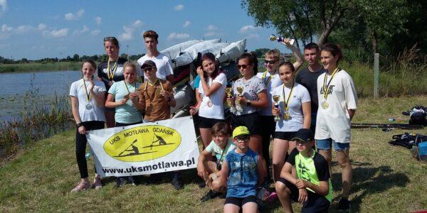 Mistrzostwa Województwa pomorskiego w kajakarskie 2020 Malbork